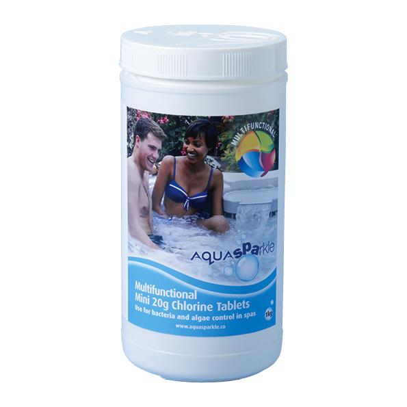 AquaSparkle Multifunctional Mini 20g Chlorine Tablets